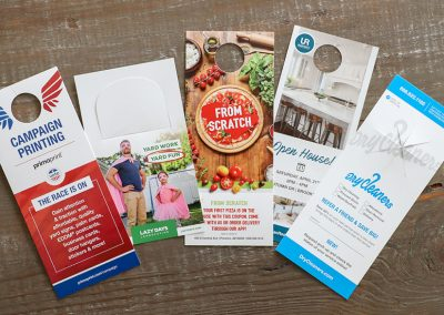 Door Hangers, digital marketing, targeted mail, tv advertising, print services, Brentwood, CA , Y Media